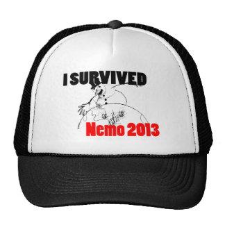 I survived Nemo 2013 Cap