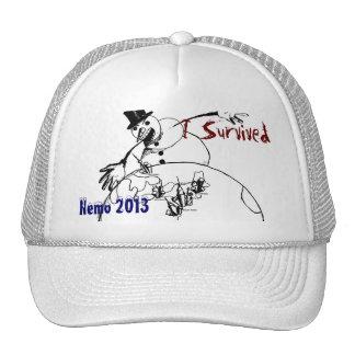 I Survived Nemo 2013 - cap