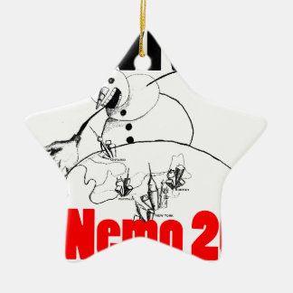 I survived Nemo 2013 Ceramic Star Decoration