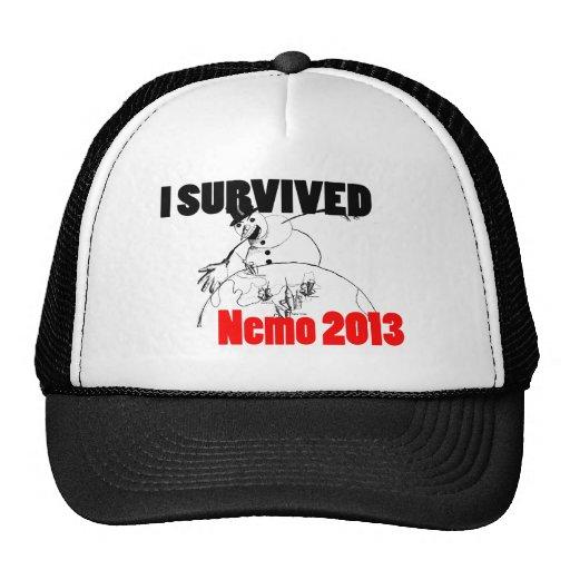 I survived Nemo 2013 Mesh Hats