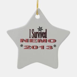 I Survived NEMO 2013 Ornament