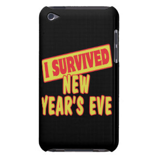 I SURVIVED NEW YEARS EVE BARELY THERE iPod CASE
