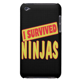 I SURVIVED NINJAS iPod TOUCH Case-Mate CASE