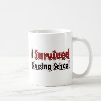 I Survived Nursing School Coffee Mug