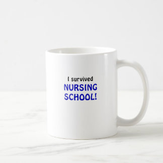 I Survived Nursing School Mug