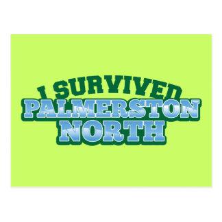 I Survived PALMERSTON NORTH Postcard