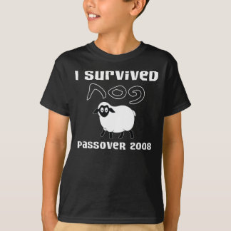 I Survived Passover 2008 T-Shirt