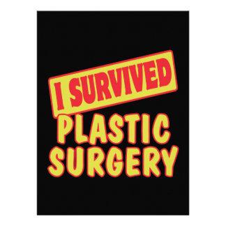 I SURVIVED PLASTIC SURGERY ANNOUNCEMENTS
