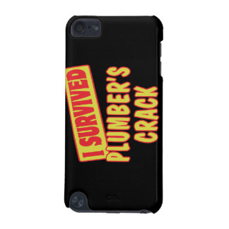 I SURVIVED PLUMBERS CRACK iPod TOUCH (5TH GENERATION) COVER