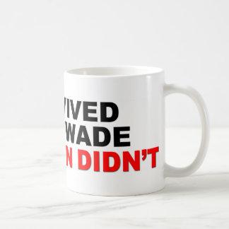 I Survived Roe V. Wade Basic White Mug