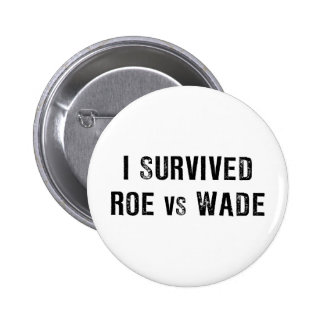 I Survived Roe Vs Wade 6 Cm Round Badge
