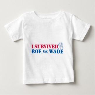 I survived Roe vs Wade (hand) Baby T-Shirt
