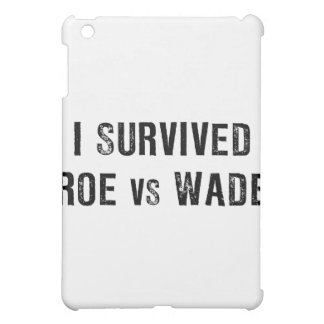 I Survived Roe Vs Wade iPad Mini Cover