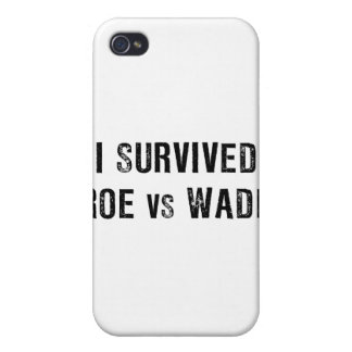 I Survived Roe Vs Wade iPhone 4/4S Covers
