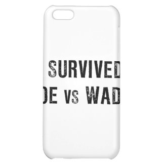 I Survived Roe Vs Wade iPhone 5C Covers