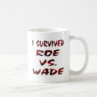 I Survived Roe vs. Wade Mugs