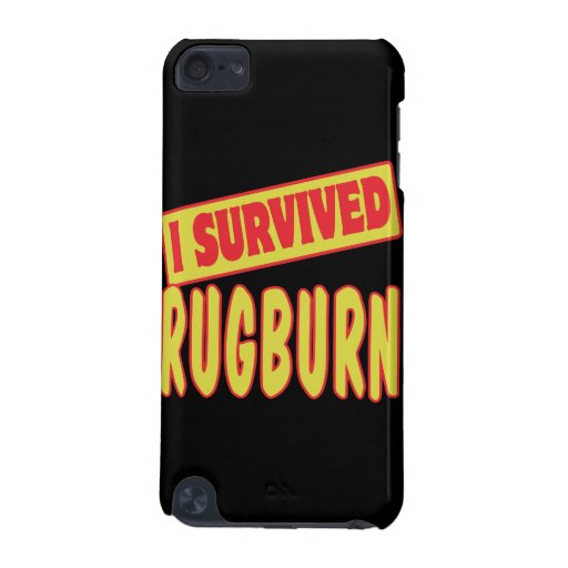 I SURVIVED RUGBURN iPod TOUCH 5G CASE