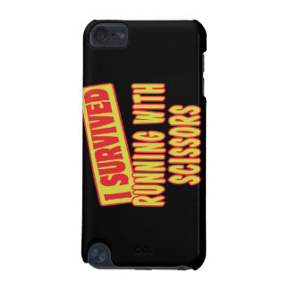 I SURVIVED RUNNING WITH SCISSORS iPod TOUCH 5G CASE