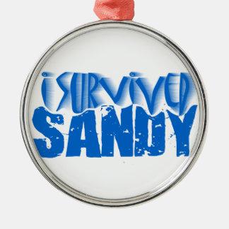 i survived SANDY Christmas Ornament