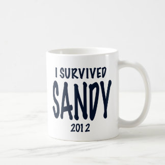 I Survived Sandy Coffee Mug