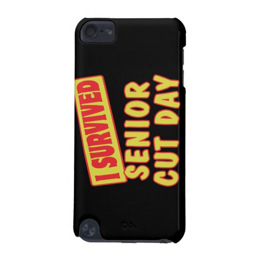 I SURVIVED SENIOR CUT DAY iPod TOUCH 5G CASE