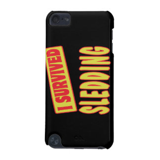 I SURVIVED SLEDDING iPod TOUCH (5TH GENERATION) CASE
