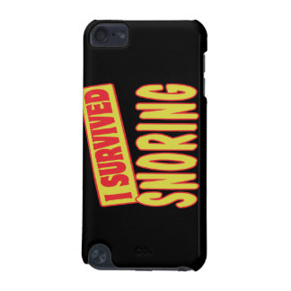 I SURVIVED SNORING iPod TOUCH (5TH GENERATION) CASE