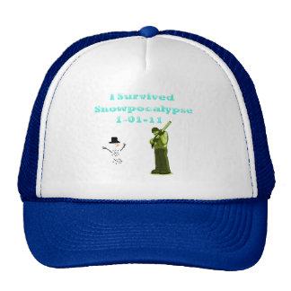 I Survived Snowpocolypse Hats