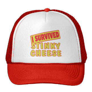 I SURVIVED STINKY CHEESE MESH HATS