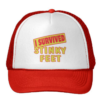 I SURVIVED STINKY FEET HAT