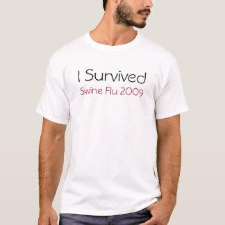 I Survived Swine Flu 2009 T-Shirt