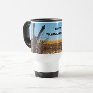 I survived the Australian outback Travel Mug