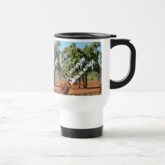 I survived the Australian outback Travel Mug