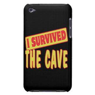 I SURVIVED THE CAVE BARELY THERE iPod CASES