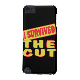 I SURVIVED THE CUT iPod TOUCH (5TH GENERATION) CASES