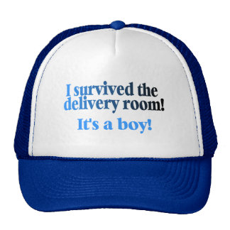 I Survived The Delivery Room Its A Boy Hat
