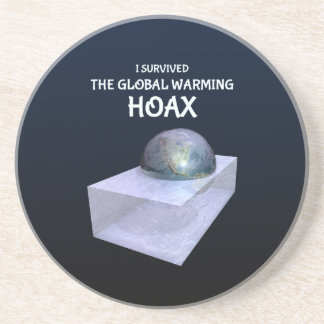 I Survived The Global Warming Hoax Coaster