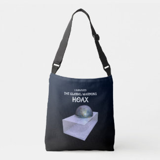 I Survived The Global Warming Hoax Crossbody Bag