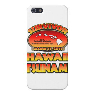 I Survived The Hawaii Tsunami 03 March 2011 iPhone 5/5S Covers