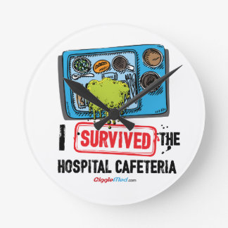 I Survived The Hospital Cafeteria Round Clock