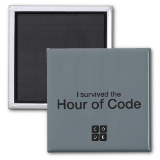 I Survived the Hour of Code Magnet
