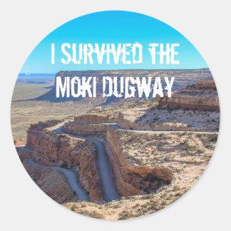 I Survived the Moki Dugway Sticker
