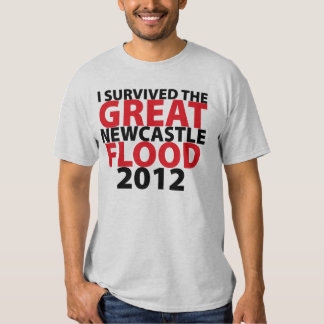 I Survived the Newcastle Flood! T-shirts