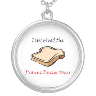 I survived the Peanut Butter Wars Pendants