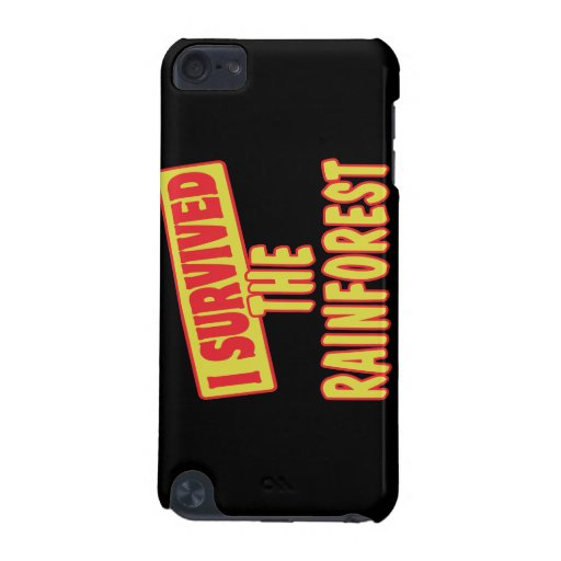 I SURVIVED THE RAINFOREST iPod TOUCH 5G CASE