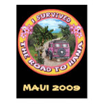 I survived the Road to Hana Postcard
