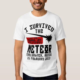 I Survived The Russian Meteor T-shirts
