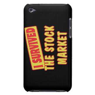 I SURVIVED THE STOCK MARKET iPod TOUCH CASE