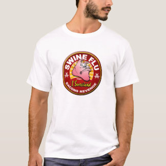 I Survived The Swine Flu - H1N1 T-Shirt