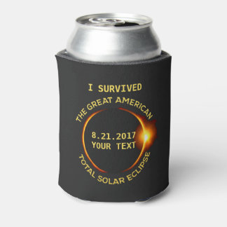 I Survived the Total Solar Eclipse 8.21.2017 USA Can Cooler